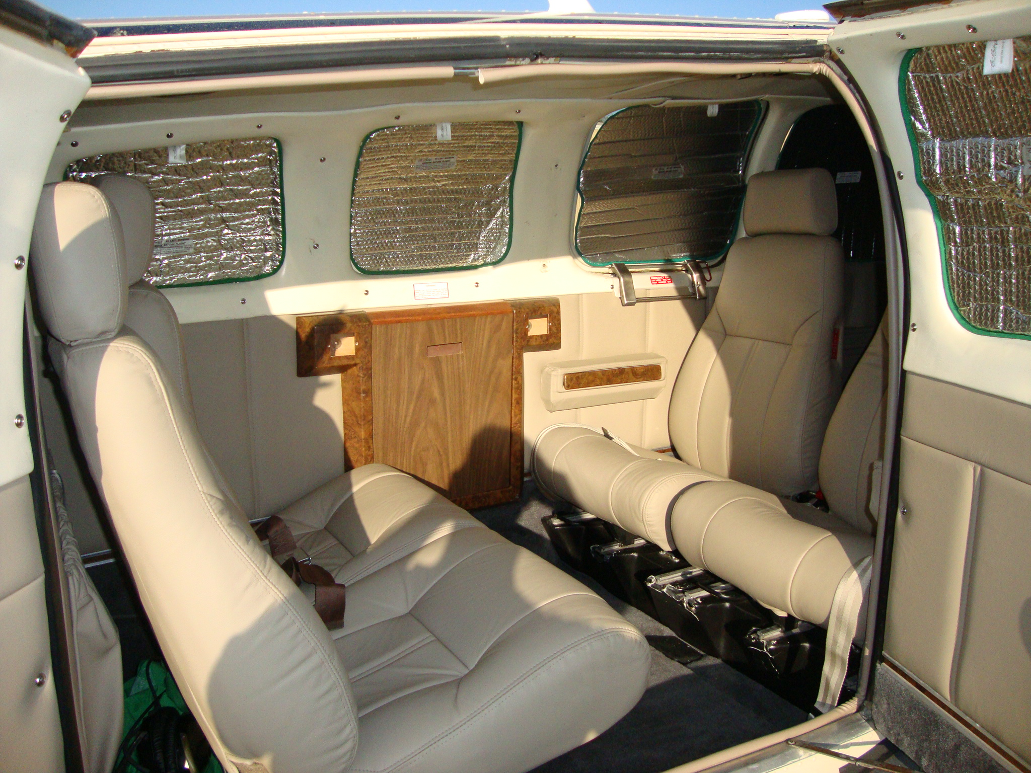 Beechcraft A36 Interior